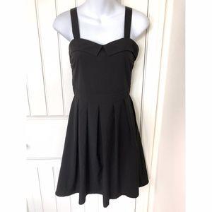 Modcloth CocoLove Black Skater Mini Dress